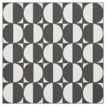 Tecido Fabric Formas Geométricas Pattern Blanco y Negro