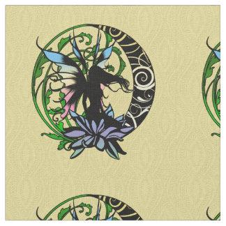 Tecido Fada da sombra de Lotus
