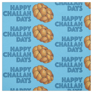 Tecido feliz azul de Hanukkah Chanukah dos dias do