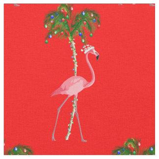 Tecido Flamingo do Natal