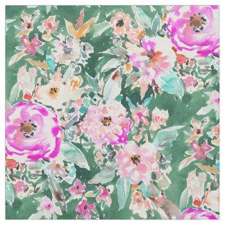 Tecido Floral colorido de WANDERLUSH