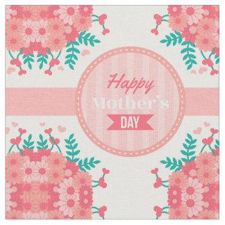 tecido floral do dia das mães