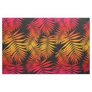 Tecido Folha tropical da palmeira da decoração