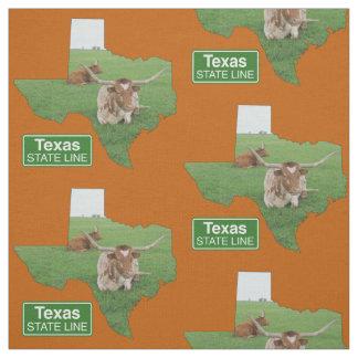 Tecido Forma de Texas com sinal 4 da fronteira estadual