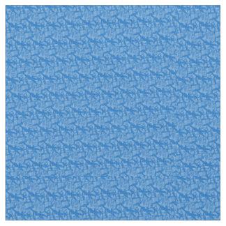 Tecido Fractal-Estilo do azul de Hanukkah