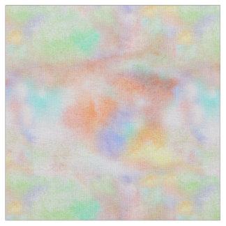 Tecido Fundo colorido pintado abstrato da aguarela