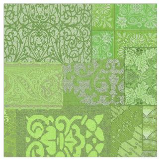 Tecido Grandioso verde de Isabella