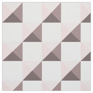 Tecido Ilusão da pirâmide do rosa de quartzo cor-de-rosa