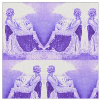 Tecido Impressão 1928 da menina de Ziegfeld