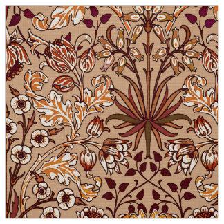 Tecido Impressão, Brown e bege do jacinto de William
