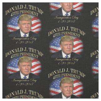 Tecido Inauguração do presidente Donald Trump