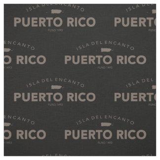 Tecido Isla del Encanto, Puerto Rico