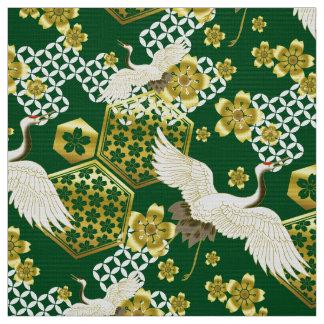 Tecido japonês do teste padrão do quimono