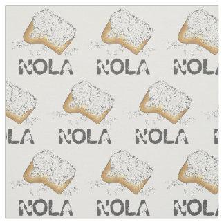 Tecido LA Louisiana Beignet Beignets de NOLA Nova Orleães