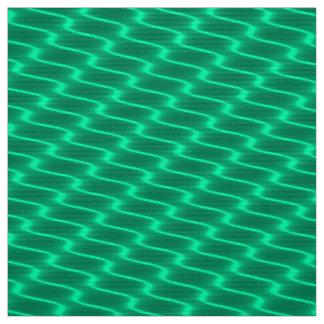 Tecido Linhas onduladas teste padrão da cerceta de néon