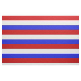 Tecido Listra vermelha, branca e azul, listras, listradas