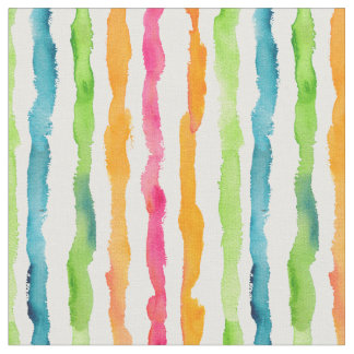 Tecido Listras abstratas da aguarela