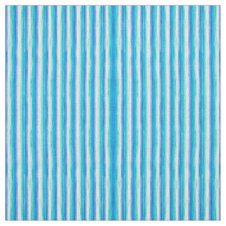 Tecido Listras do azul e do branco de oceano