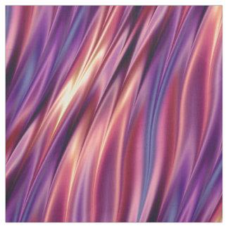 Tecido Listras onduladas coloridas por do sol