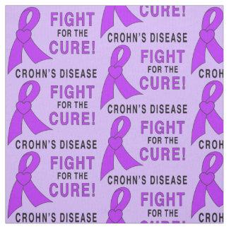 Tecido Luta da doença de Crohn para a cura