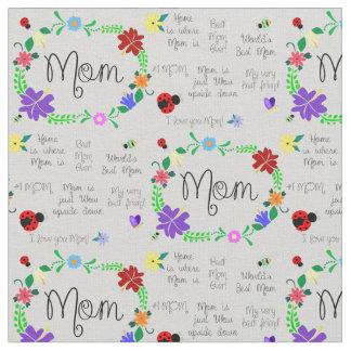 Tecido Mamã