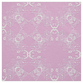 Tecido Mandala. cor-de-rosa floral étnico