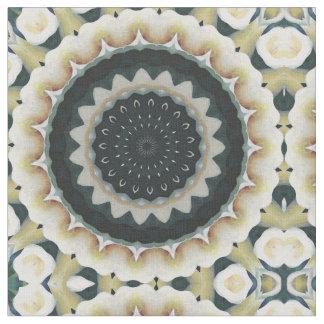 Tecido Mandala do lírio de Calla
