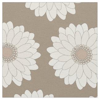 Tecido Margaridas do Gerbera, padrões florais