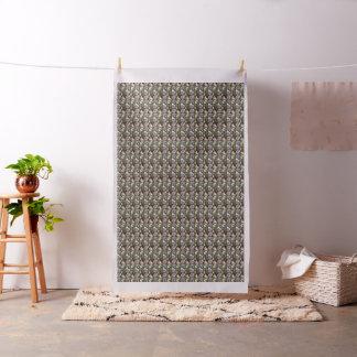 Tecido Material do algodão da colagem da foto de Meerkats