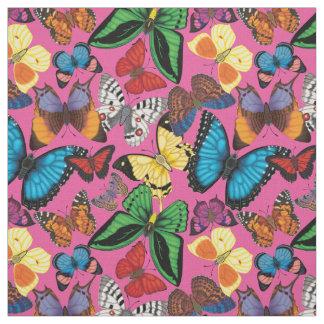 Tecido Mundo da borboleta