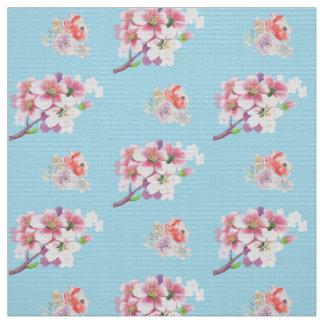 Tecido na moda do boho floral