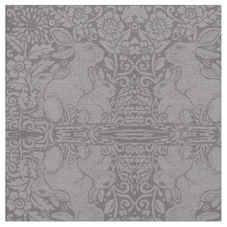 Tecido O desenhista cinzento da família do coelho telhou