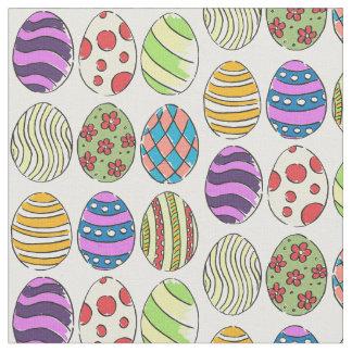 Tecido O design Funky tingiu ovos da páscoa