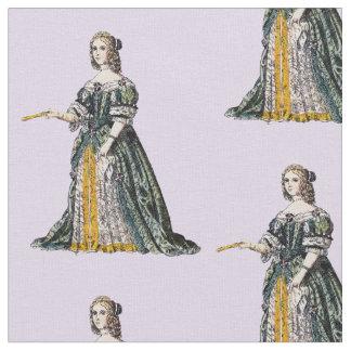 Tecido O ~ TRAJA o ~ Henrietta, duquesa do ~ 1669 de