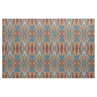 Tecido Obscuridade da cerceta - teste padrão de mosaico