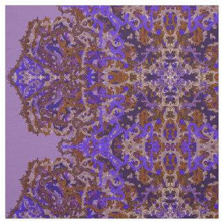 Tecido Ornamento colorido Boho-Romântico
