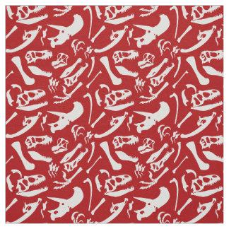Tecido Ossos de dinossauro (vermelhos)