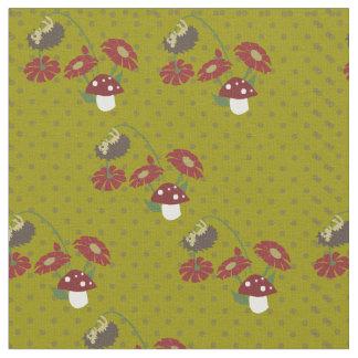 Tecido Ouriços das bolinhas