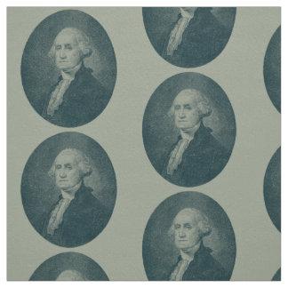 Tecido Oval do retrato de George Washington