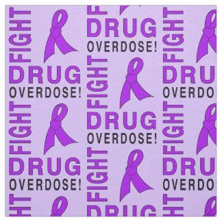 Tecido Overdose de droga da luta