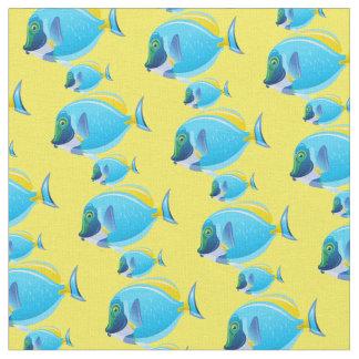 Tecido Peixes Tecido-Tropicais feitos sob encomenda