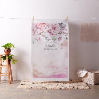 Tecido Penas florais de Boho do contexto da cabine da