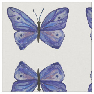 Tecido penteado costume do algodão da borboleta