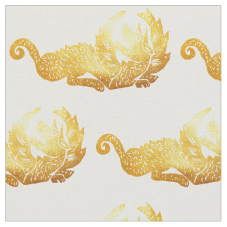 """Tecido penteado costume do algodão do dragão (56"""""""