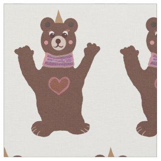 """Tecido penteado costume do algodão do urso (56"""""""