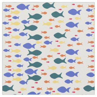 """Tecido penteado costume do algodão dos peixes (56"""""""