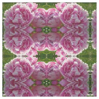 Tecido Peônia cor-de-rosa