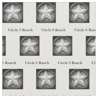 Tecido personalizado Lonestar rústico de Texas
