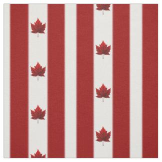 Tecido personalizado tecido da bandeira de Canadá