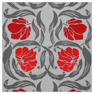 Tecido Pimpernel de William Morris, cinzas de prata e